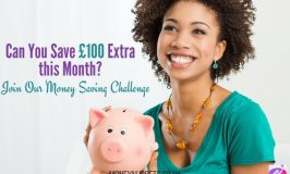 Money Saving Challenge – Give Up and SAVE £100 New Year's Challenge