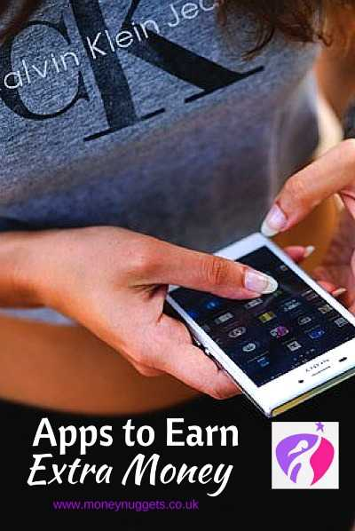 Apps to Earn Extra Money pin
