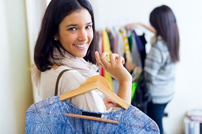 ways to save money - fashion shopping