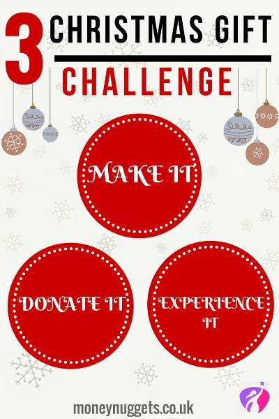 Christmas challenge alternative gift ideas