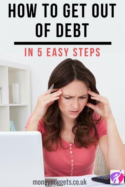 tips for getting out of debt pin