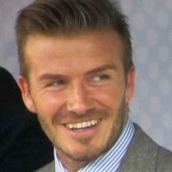 Most Charitable Celebrities David Beckham