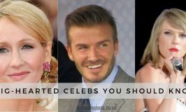 Most Charitable Celebrities