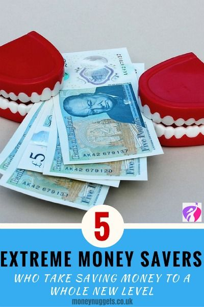 extreme money savers
