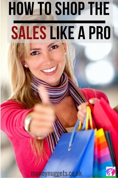how to shop the sales pin