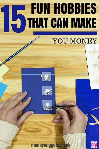 hobbies that make money pin