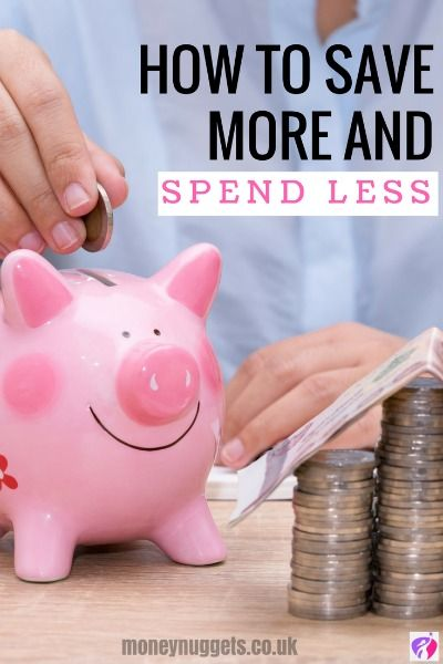 How To Save More Money And Spend Less