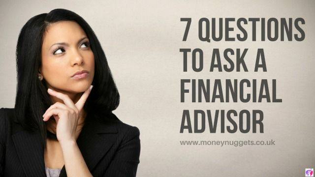 key questions to ask a financial advisor