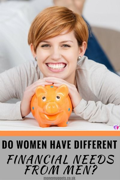 Do Women Have Different Financial Needs From Men