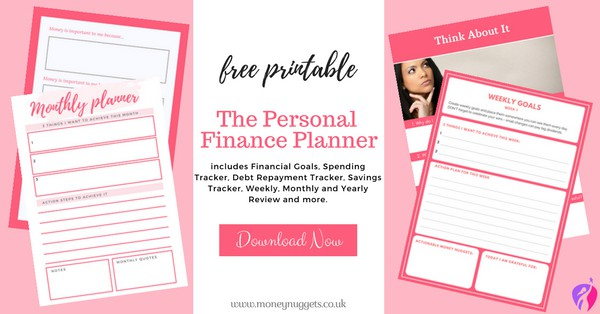 Free printable personal financial planner