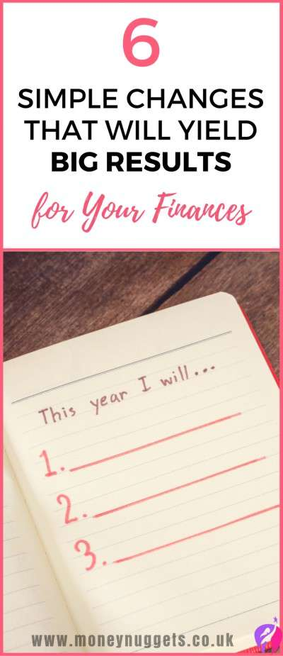 new year's resolutions finances