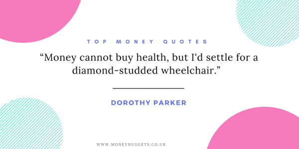 top-money-quotes-women-Dorothy Parker