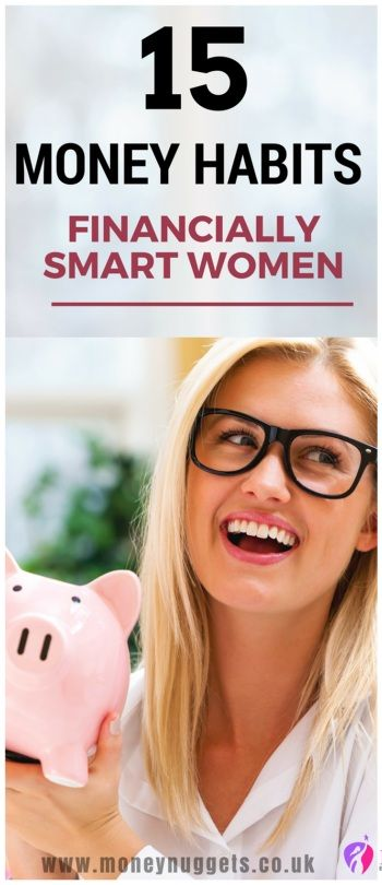 good financial habits women