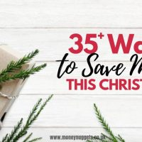 How to Do Christmas Cheap | Save Money This Christmas