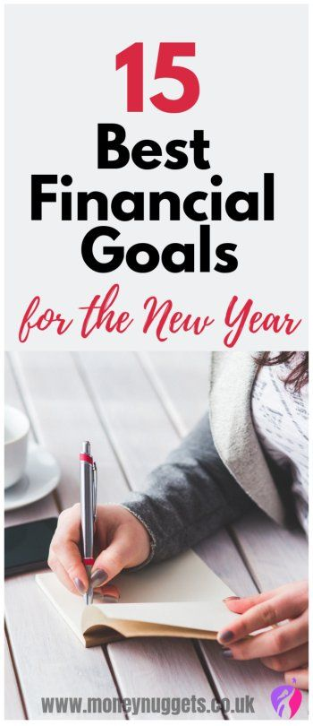 Financial goals ideas - smart financial goals