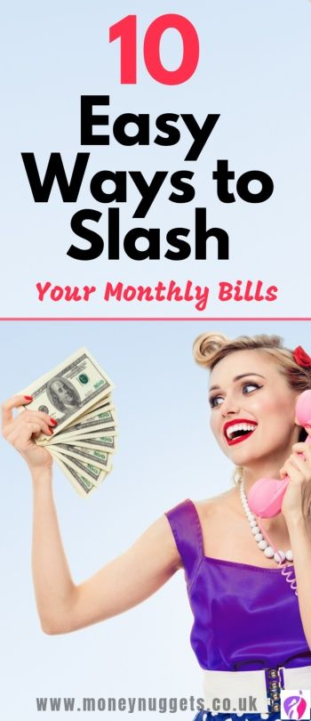 how to save money on bills pin later